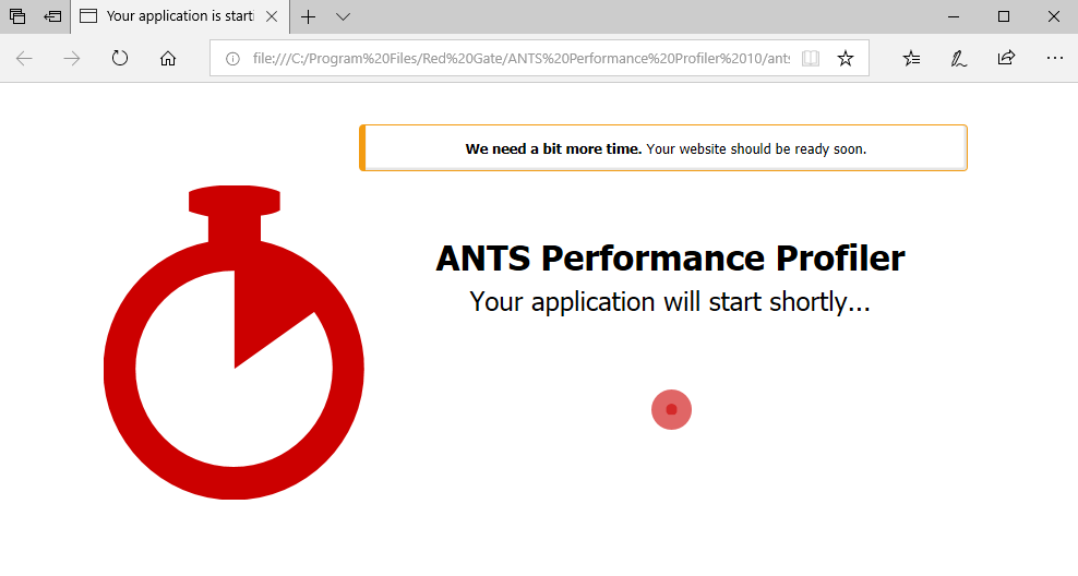 Profiling  NET Core applications - ANTS Performance Profiler 10