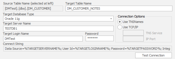 Cross Database Login Panel - Data Masker - Product Documentation
