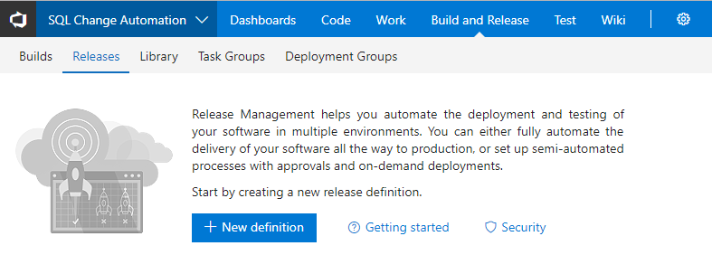 Use the Azure DevOps Release extension with an approval step