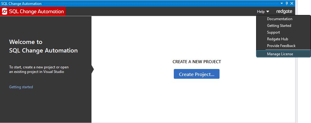 Activating - SQL Change Automation 3 - Product Documentation