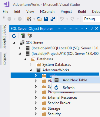 Getting started with SQL Change Automation projects in