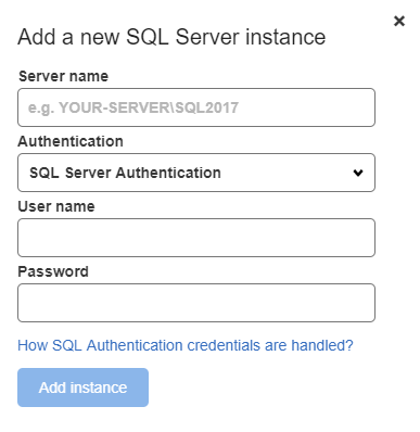 SQL Server Authentication credentials handling - SQL Data